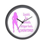 Showtime V2 Wall Clock
