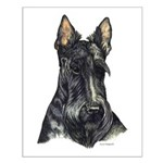 Scottish Terrier Scotty Small Poster