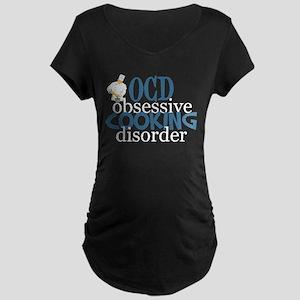 Funny Chef Maternity Dark T-Shirt