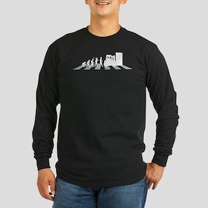 Forklift Operator Long Sleeve Dark T-Shirt