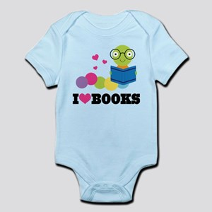 Bookworm I Heart Books Infant Bodysuit