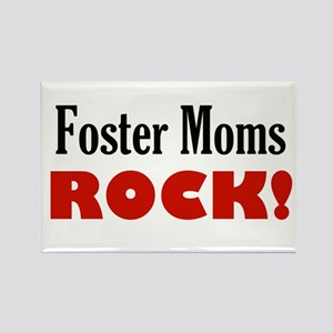 foster moms rock Magnets