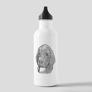B@W Weimaraner Stainless Water Bottle 1.0L