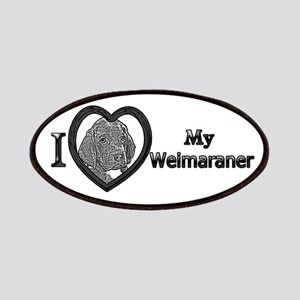 B@W Weimaraner 1 Patches