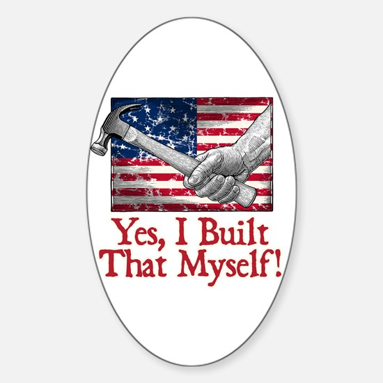 Build That! - Sticker (Oval)