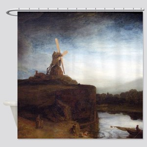 Rembrandt The Mill Shower Curtain
