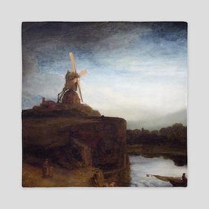 Rembrandt The Mill Queen Duvet