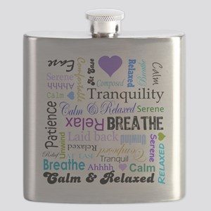 Relax Typography Flask