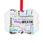 Relax Typography Picture Ornament