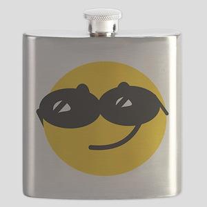 Cool Smiley Flask