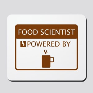 Food Scientist Powered by Coffee Mousepad