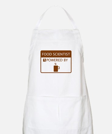 Food Scientist Powered by Coffee Apron