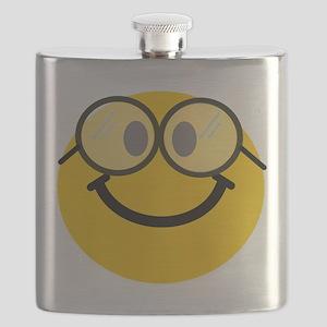 Geek Smiley Flask