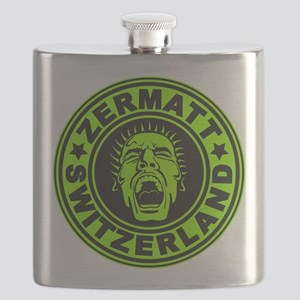 Zermatt Scream Lime Flask