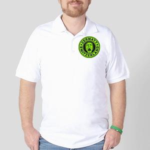 Zermatt Scream Lime Golf Shirt