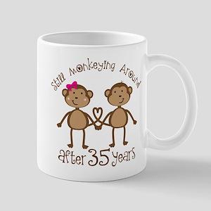 35th Anniversary Love Monkeys Mug