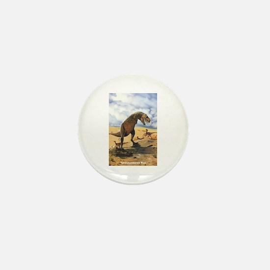 Tyrannosaurus Rex T-Rex Dinosaur Mini Button