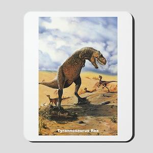 Tyrannosaurus Rex T-Rex Dinosaur Mousepad