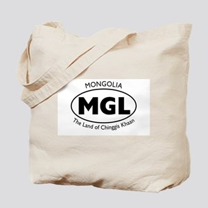 Mongolia/Chinggis Khaan Tote Bag