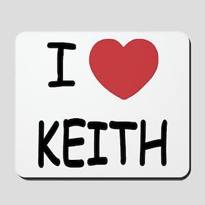 I heart KEITH Mousepad