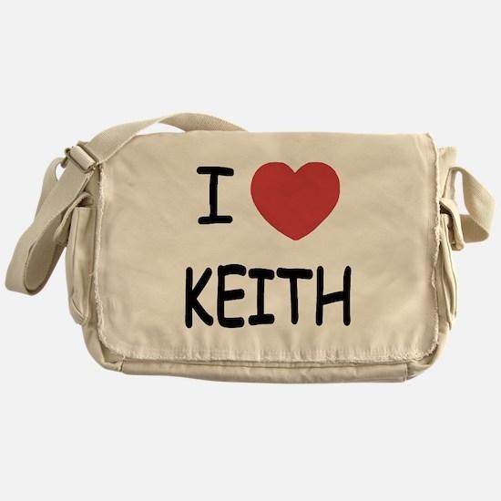 I heart KEITH Messenger Bag