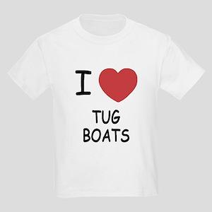 I heart tug boats Kids Light T-Shirt