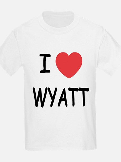 I heart WYATT T-Shirt