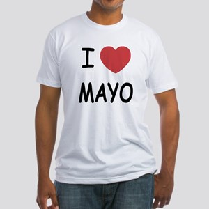 I heart mayo Fitted T-Shirt
