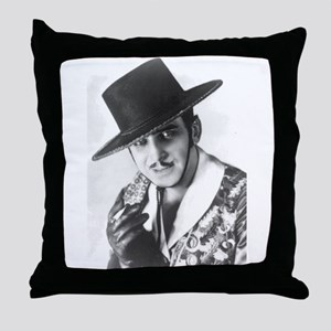 "Douglas Fairbanks as ""Zorro"" Throw Pillow"