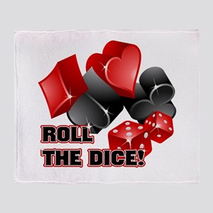 Roll The Dice Throw Blanket