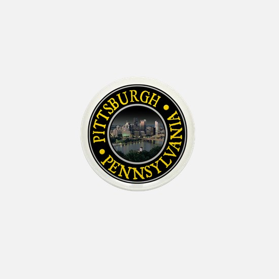 Pittsburgh Mini Button