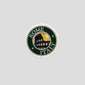 Rome, Italy Mini Button