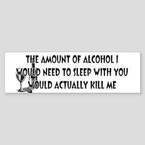 Alcohol Sex Sticker (Bumper)