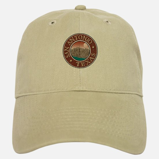 San Antonio - Distressed Baseball Baseball Cap