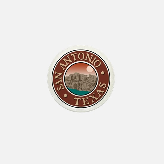 San Antonio Mini Button
