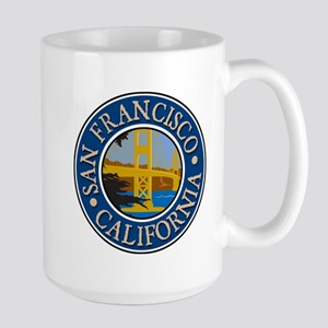 San Francisco 1 Large Mug