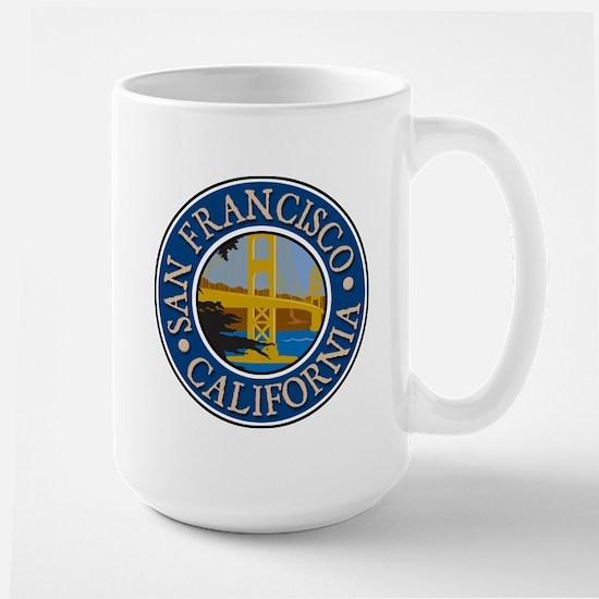 San Francisco 1 Large Mug