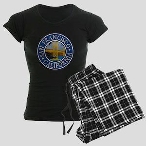 San Francisco 1 Women's Dark Pajamas
