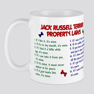 Jack Russell Terrier Property Laws Mug