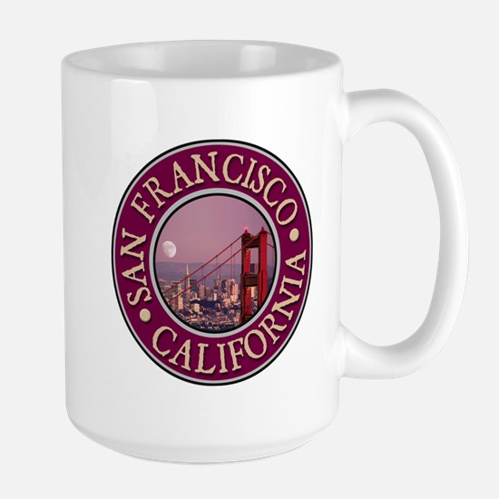 San Francisco 3 Large Mug