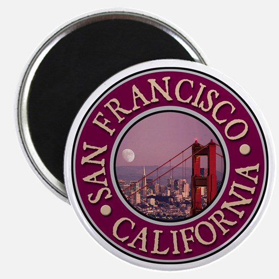 San Francisco 3 Magnet