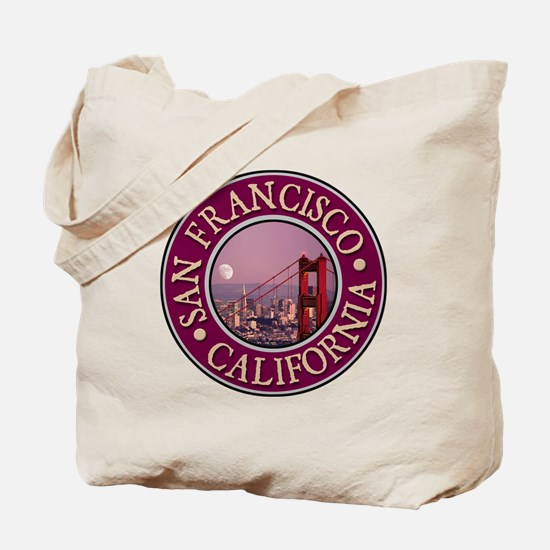 San Francisco 3 Tote Bag