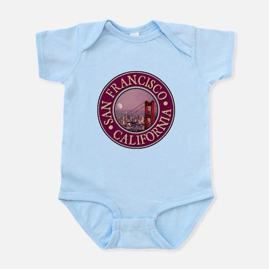 San Francisco 3 Infant Bodysuit