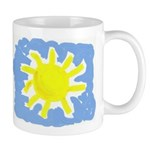 Painted Sun Mug