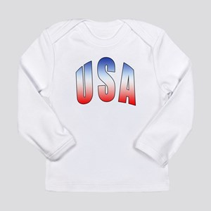 USA Long Sleeve Infant T-Shirt
