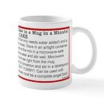 3-2-1 Cake in a Mug