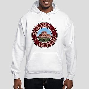Sedona - Bell Rock Distressed Hooded Sweatshirt