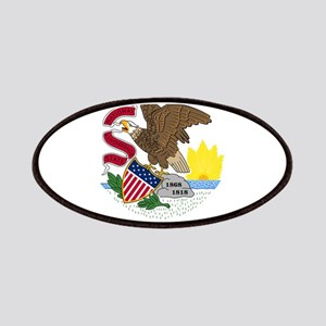 Illinois State Flag Patches