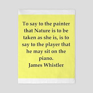 whistler wuote Twin Duvet