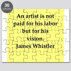 james whistler Puzzle